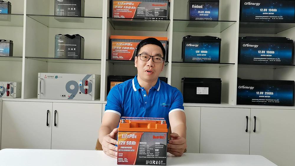 China Bateria GRERNGY LIFPO4 12.8V 50AH fabricantes