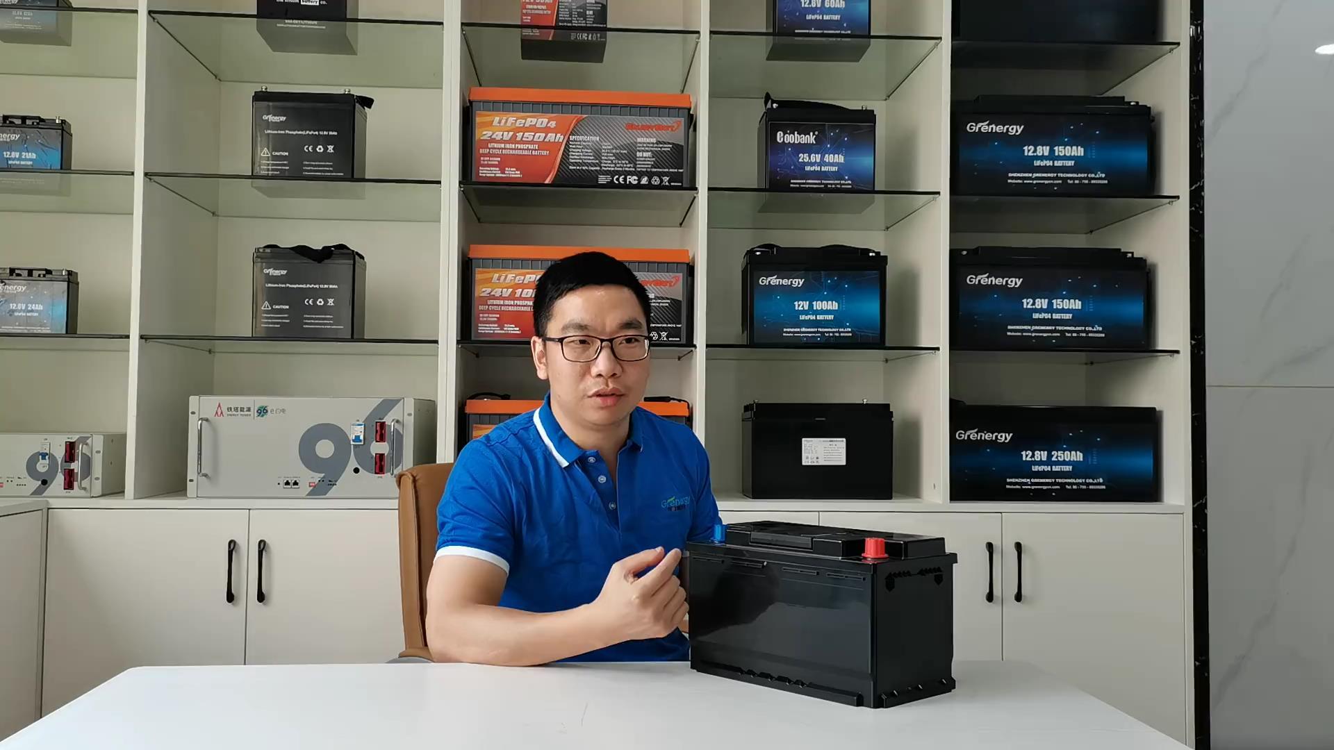 OEM LifePo4 carro saltar bateria 08 fornecedores-Gergy Battery