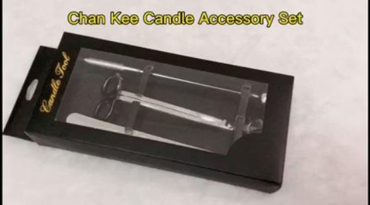 Chan Kee เทียนอุปกรณ์เสริมชุดเทียนไส้ตะเกียง T Rimmer เทียนตะเกียงเทียนกระบวย Snuffer ถาดขายส่ง